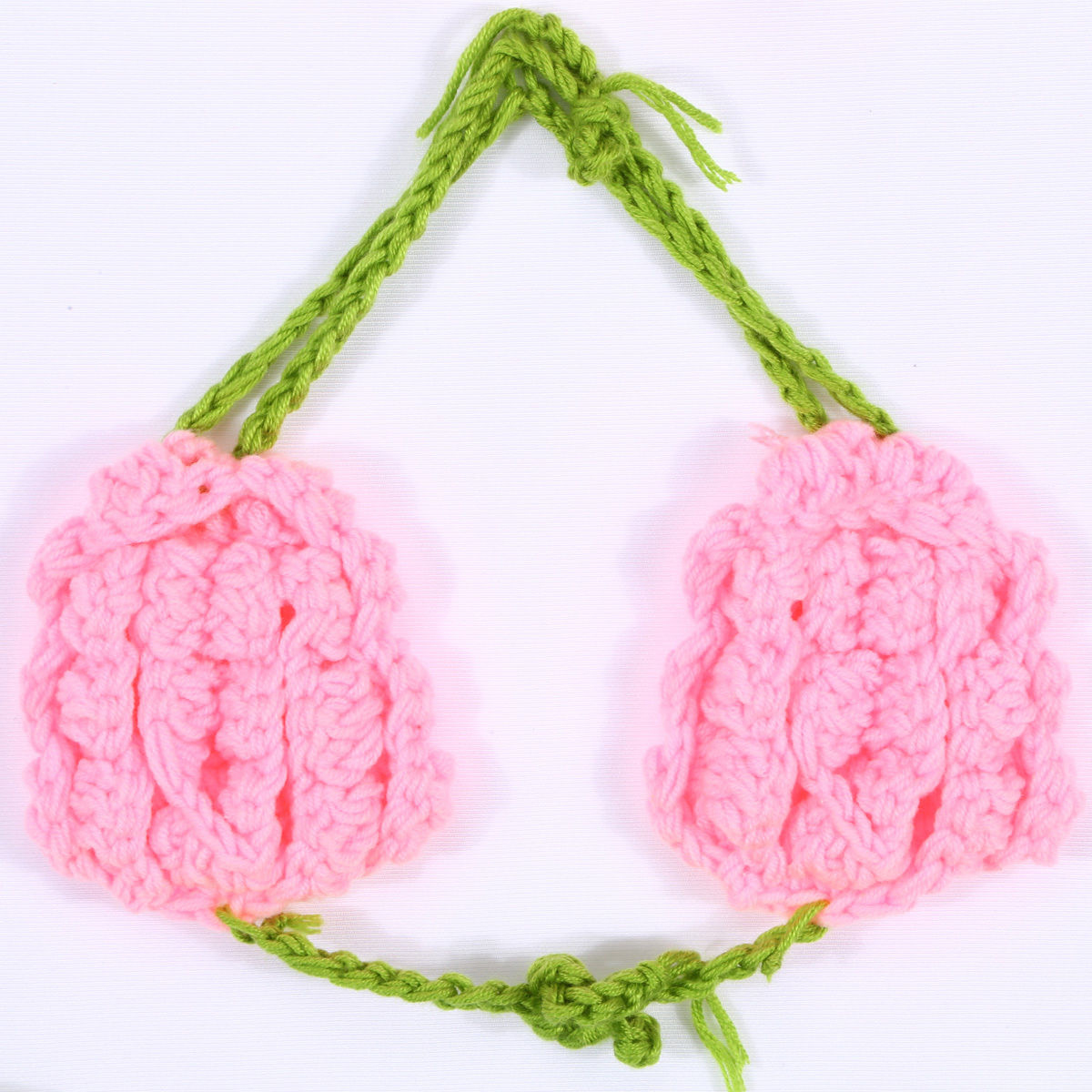 小さな人魚★かぎ針編みのベビーマーメイドコスチュームセット
