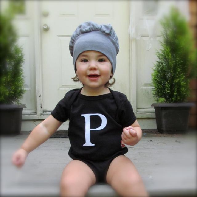 塩コショウ瓶柄♪ロンパース ふたの帽子付 2枚組♪可愛いくておもしろい海外デザイン♪ Newborn-24months