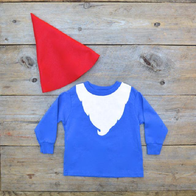 赤い帽子のこびとさん コスチューム 帽子 ズボン付 トドラー♪可愛いくておもしろい海外デザイン♪ 2T-4T