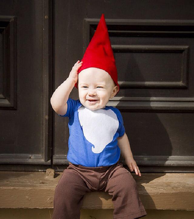 ♪赤い帽子のこびとさん コスチューム 帽子 ズボン付♪可愛いくておもしろい海外デザイン♪