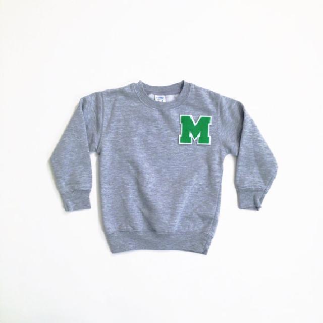 オリジナルイニシャル柄セーター トドラー♪可愛いくておもしろい海外デザイン♪