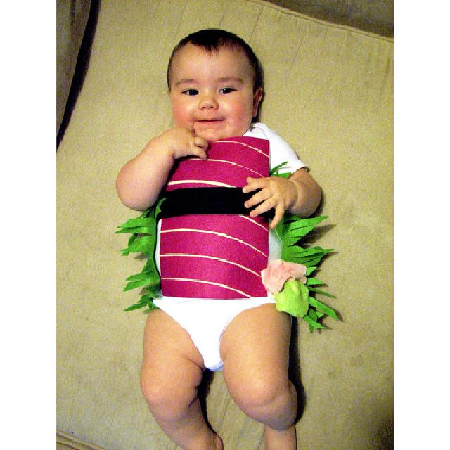 ハロウィン コスチューム お寿司柄♪ロンパース♪可愛いくておもしろい海外デザイン♪ Newborn-24months