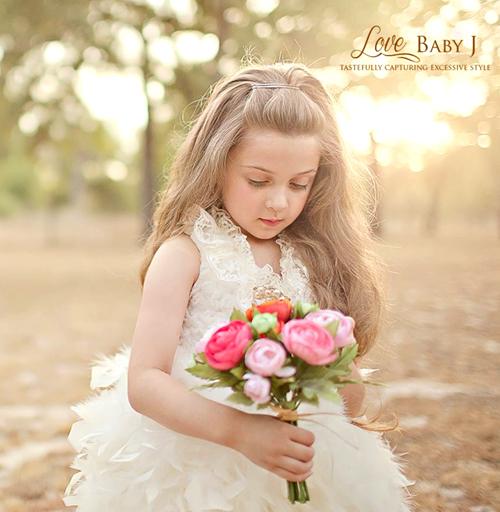 ふわふわ&ゴージャス!スワンガウンドレス☆【The Kiss of Swan Lake】新生児から8歳 採寸オーダーOK