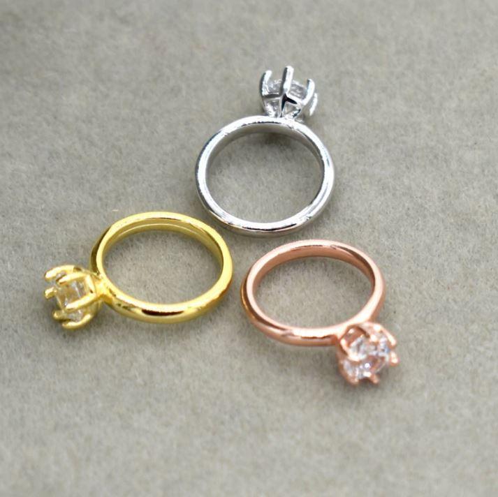ベビーリングニューボーンフォトの撮影小道具にかわいいリング シルバー、ゴールド、ピンクゴールド