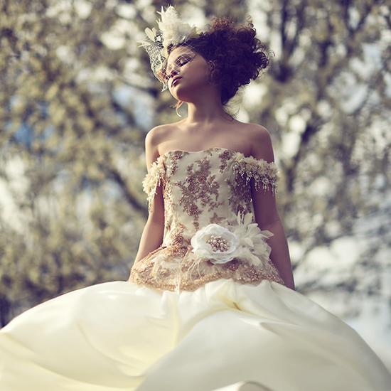 オーレル~特別な日のためのクチュールドレス「Aurele - Special Occasion Girls Couture Gown」4歳から10歳