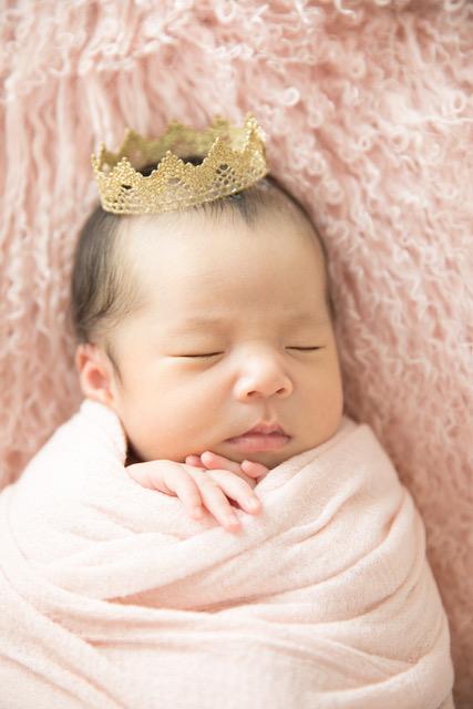 新生児撮影髪飾り