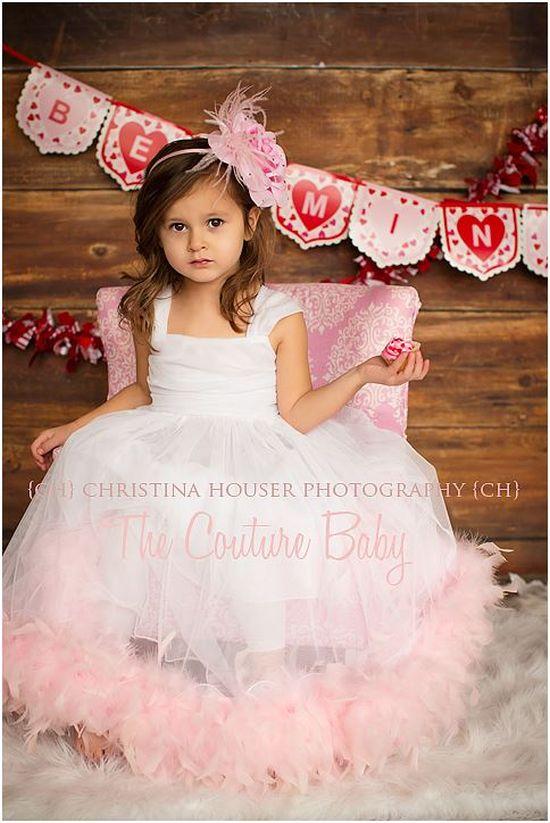 ピンクフェザードレス