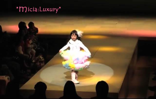 関西キッズコレクションmicia:luxury