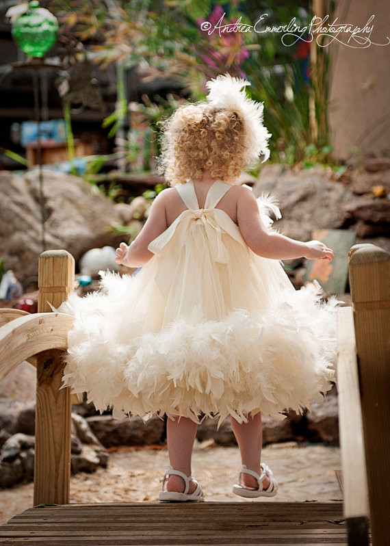 小さなお姫様のフラワーガールドレス「Little Miss Princess Flower Girl Dress」1歳から4歳