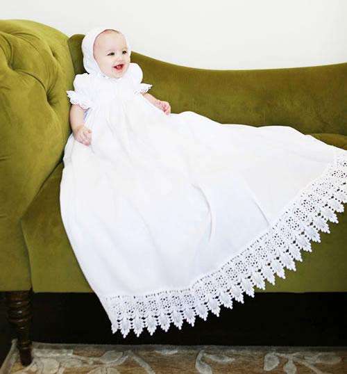 ロングロングエンパイアベビードレス「The Victoria」