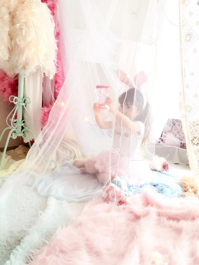 ファーストバースデーのキラキラお祝いチュチュ付ロンパース☆ピンク・ホワイト 2色展開