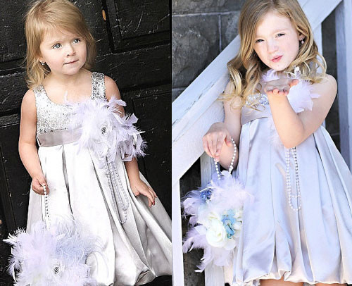 華やかなパーティーに~スパンコール バブルドレス「Party Girl Sequin Bubble Dress」2歳から12歳