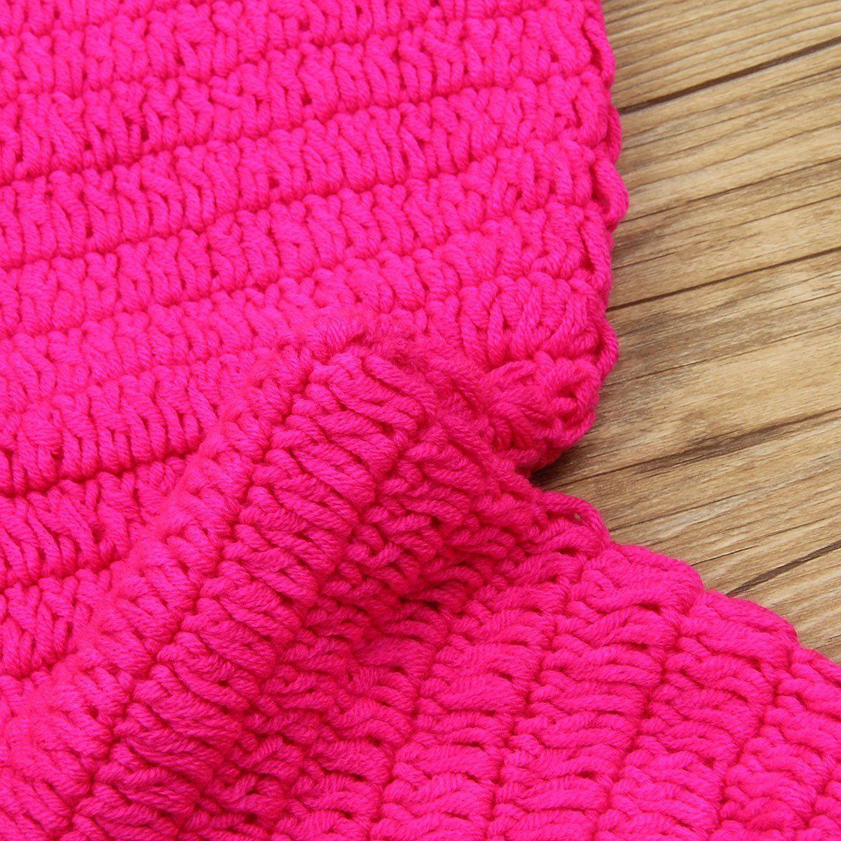 人魚に変身★かぎ針編みのマーメイドコスチュームセット