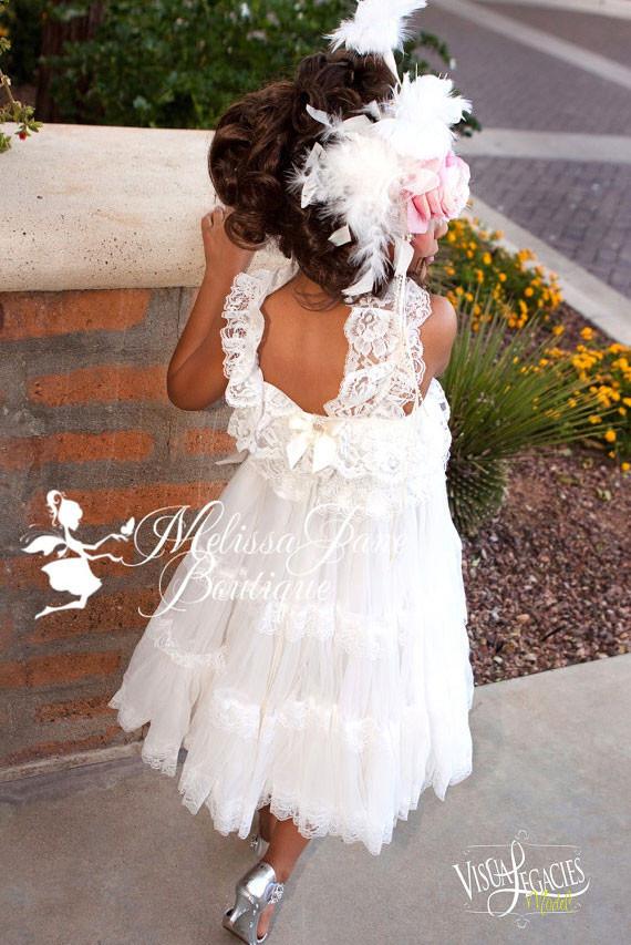 純粋な甘い囁き 優雅なフラワードレス「Pure Sweet Whisper Elegant Flower Girl Dress」4歳から6歳