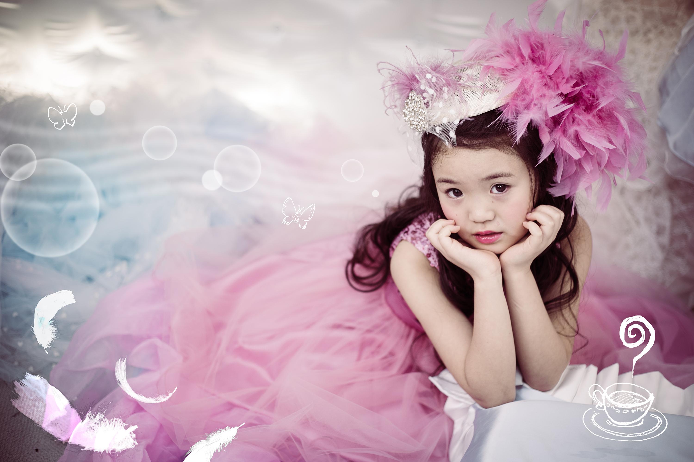 チュールスカートドレスSweet dress Ai