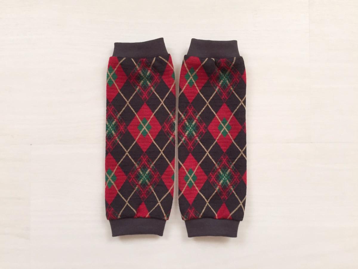 クリスマス★ネクタイロンパース&スタイ&レッグウォーマーセット「Christmas2016」